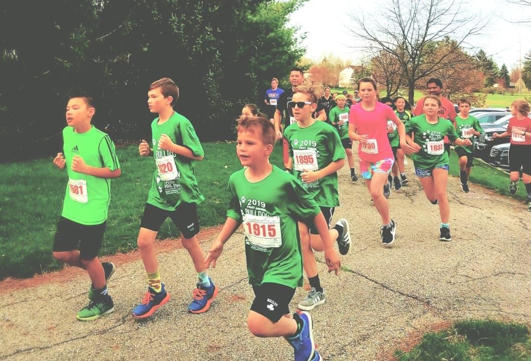 Bailey kids running 4 19