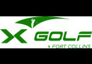 Medium x golf logo green fort collins